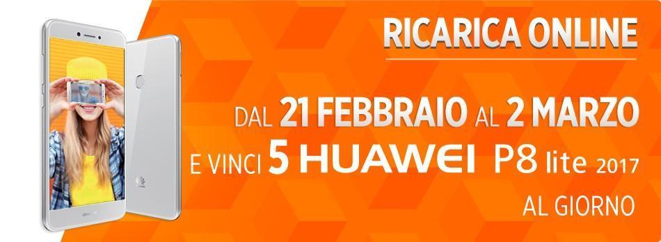 Ricarica Online Wind Huawei P8 Lite 2017