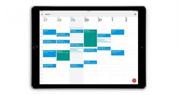 Google Calendario iPad Pro