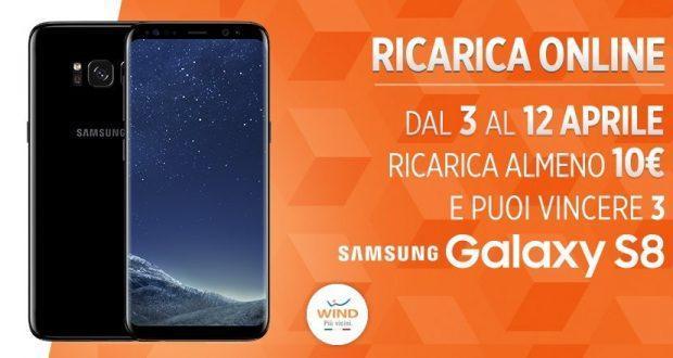 Samsung Galaxy S8 concorso Wind