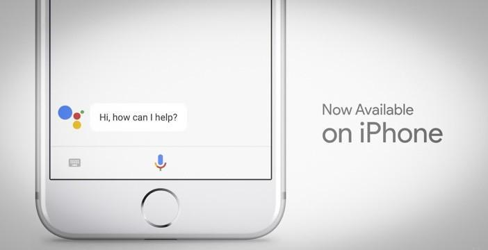 Google Assistant su iPhone