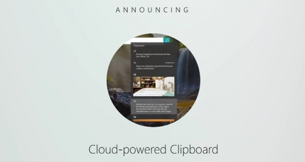Microsoft Cloud Clipboard