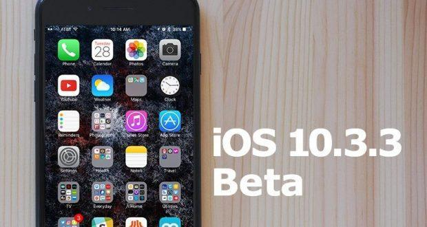 iOS 10.3.3 beta