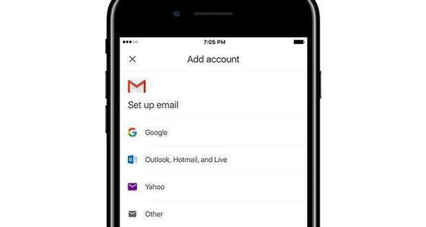 Gmail per iOS multi account