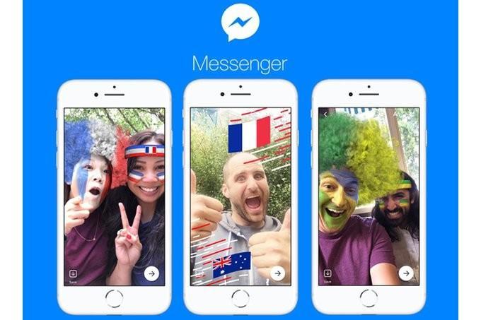 Facebook Messenger Russia 2018