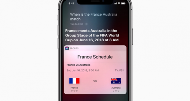Siri Russia 2018
