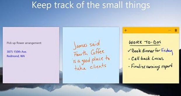 Microsoft Sticky Notes