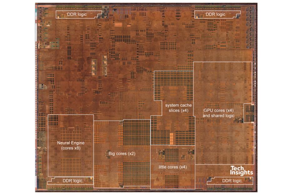 Chip A12 Bionic Apple