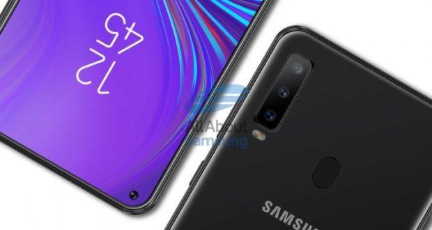 Samsung Galaxy A8s concept