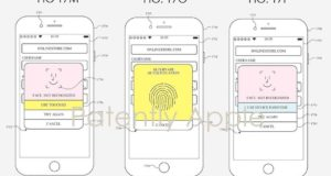 Brevetto iPhone Touch ID e Face ID