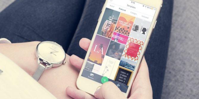 Adobe Spark iPhone